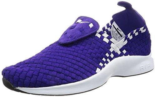 Nike Air Woven Court Purple/White-Black-White para Hombre, Morado (Court Purple/White-Black-White), 44 EU