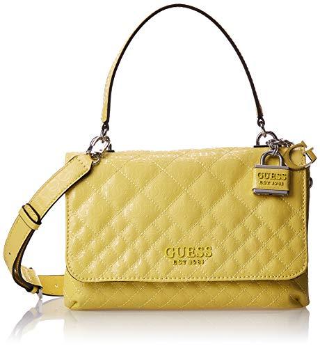 HWSY7666190 Yellow Guess GUESS HANDBAG MAIN Borsa Donna