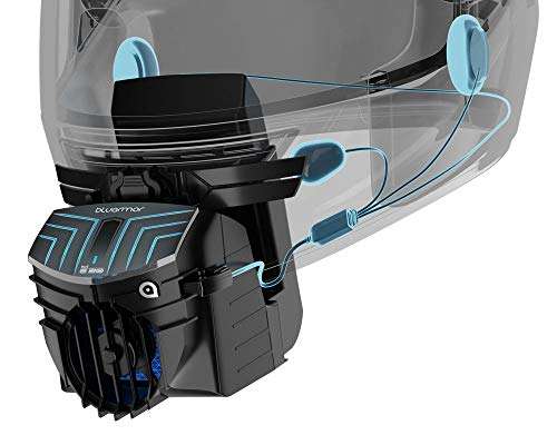 BluArmor BLU3 E20: Helmet Attachment That Provides Cooling, Dust-Blocking, De-Fogging and Connected Infotainment Over Bluetooth