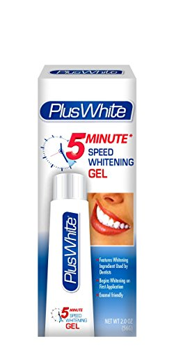 Plus White 5-Minute Premier Speed Whitening Gel, 2.0 Ounce - Packaging May Vary