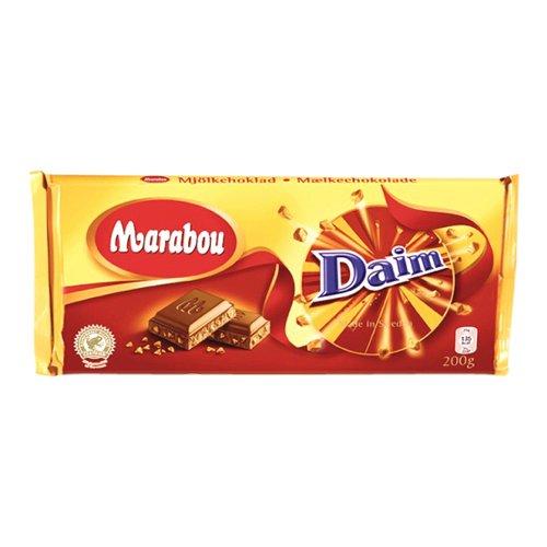 Marabou Mjolkchoklad Daim - Juego de 3 botes (100 g)