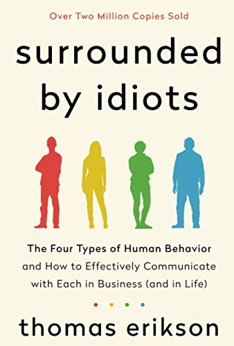 Compare Textbook Prices for Surrounded by Idiots  ISBN 9781250179937 by Erikson, Thomas