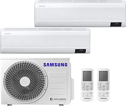 Samsung Windfree Avant - Climatizzatore Dual Split 9000 + 18000 Btu, Inverter, Pompa di Calore, A+++/A++, Gas R32