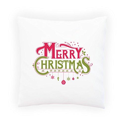 Buon Natale 1 Federa decorativi, rivestimenti con o senza inserto, 45x45cm t201p