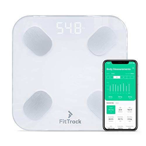FitTrack Dara Smart BMI Digital Scale - Measure Weight and...