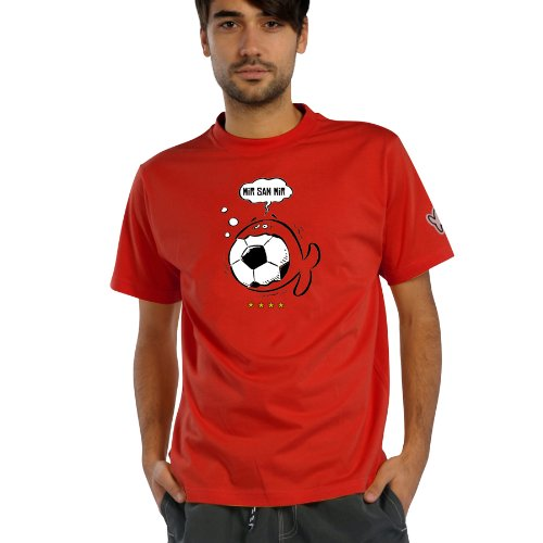 IQ-Company T-Shirt Goal pour Homme Rouge Rouge l