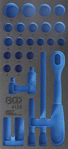 BGS 4126-1 | Werkstattwageneinlage 1/3 | leer | für Art. 4126