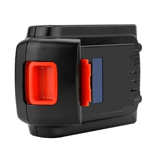 Exmate 20V 5.0Ah Batería para Black and Decker LST220 BL2018 LBXR20 LBXR2020-OPE LB20 LBX20 BL2018-XJ GKC1825L GTC1850L20 STC1820, Batería de Iones de Litio