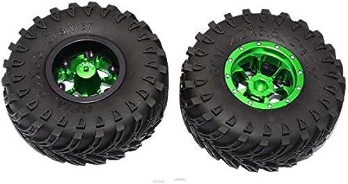 Aluminium 6 Poles Beadlock With 22mm Hub & Nylon Wtalons Frame With 2.2'' Tire & Foam Insert - 1Pr vert