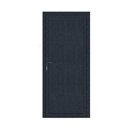 Nebeneingangstür - Komplettfüllung - anthrazit (RAL7016) - Innenöffnend - BxH: 1000 x 1800 mm - DIN Links