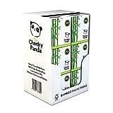 The Cheeky Panda – Pañuelo Facial de Bambú   Caja de 12 Paquetes (56 Pañuelos per Paquete, 672 Pañuelos Total)   Caja Cuadrada, 3 Capas, Hipoalergénica,Sin Plástico,Ecológica, Súper Suave y Sostenible