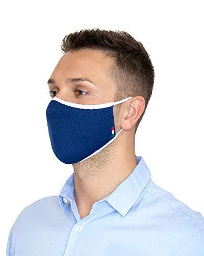 Relaxsan UNIMA [Blau] – Höflichkeitsband - leichtes und atmungsaktives Dryarn-Garn und silbernes X-Static-Garn - waschbares wiederverwendbar