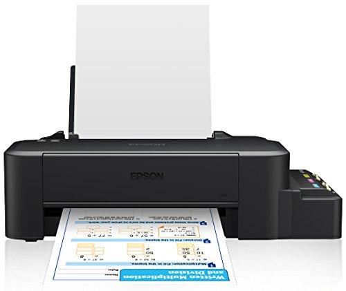 Epson L120 - Tintenstrahldrucker (720 x 720 DPI, Schwarz, Cyan, Magenta, Gelb, Papierfach, 8,5 Seiten pro Minute, 4,5 Seiten pro Minute, 50 Blätter)