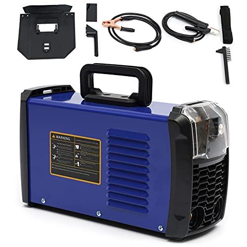 OUKANING Soldadora de electrodo Igbt MMA ARC Inverter Welder para soldadora de Acero con portaelectrodos, Abrazadera de Trabajo, Cable de alimentación