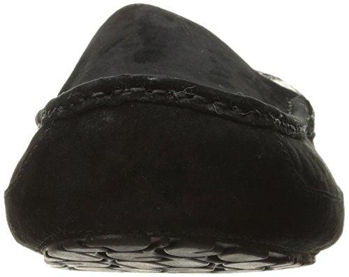 UGG Ascot - Zapatillas de Estar por Casa para Hombres., negro (Cuero negro), 42 EU
