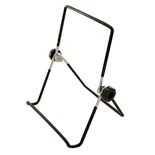 Tincogo Muestra de Hierro Ajustable Pantalla Soporte Caballete Tablet Plegable Expositor Titular,...