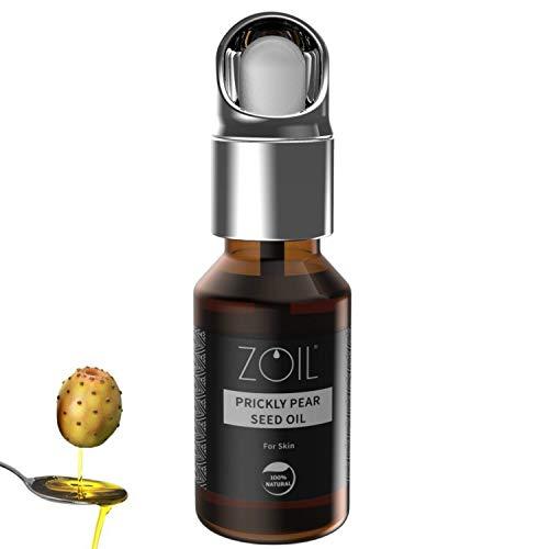 Aceite de semillas de higo chumbo – antiedad natural – 100% puro y orgánico, prensado en frío, vegano, sin OMG, cuidado hidratante intenso para el rostro, 15 ml