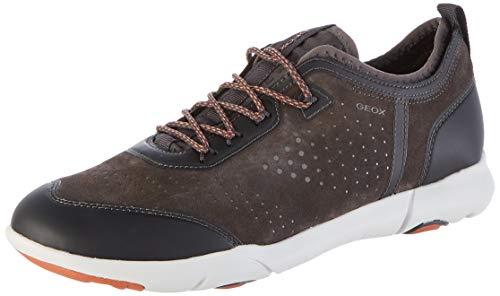Geox Herren U Nebula X A Sneaker, Braun (Mud C6372), 43 EU