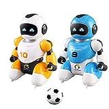 Angelay-Tian Kinder Geschenk Spielzeug Smart Play Soccer Roboter Fernbedienung Battle Toys Electric Singing Tanzen Fußballroboter für Kinder Kinder