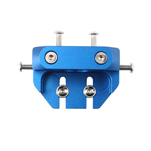 BCZAMD 3D Printer Extruder Upgrade Parts All Metal V6 and V6 Volcano Compatible with Multi-Mount Designed for Ender 3 CR10 Series Accessories-Blue
