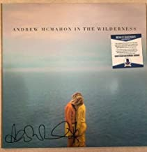 Andrew Mcmahon In The Wilderness Autographed Signed Memorabilia Vinyl Record Album Beckett G85660