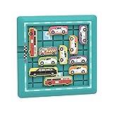 Ydh Traffic Jam Juego de lógica para niños y niñas, Juguete Educativo con patrón de números y Frutas, Juego de Inteligencia para niños, niñas, Adultos, Todas Las Edades, desafío