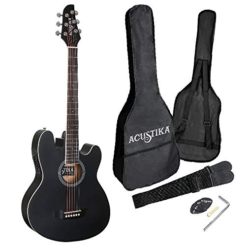 "chitarra acustica elettrificata fender ACUSTIKA F330E Chitarra ElettroAcustica - Chitarra ElettroAcustica misura 39"" (97x36x9"