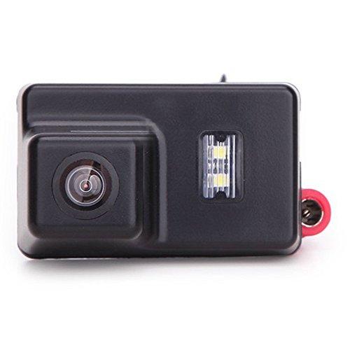 Greatek Weitwinkel Nachtsicht Rückfahrkamera Einparkkamera Kamera Einparkhilfe Farbkamera Rückfahrsystem Einparkkamera Wasserdicht für 206 207 306 308 307 406 407 5008
