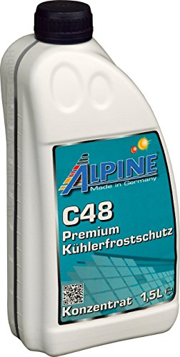 ALPINE Frostschutz Kühlerfrostschutz Konzentrat C48 G48 GRÜN 1,5L 1,5 Liter