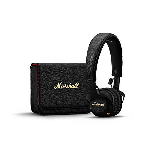 Marshall Mid Active Noise Cancelling (A.N.C.) Headphones with Bluetooth - Noir