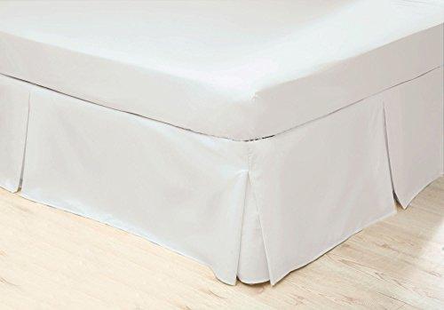 Belledorm - Cubre canapé de Cuidado fácil (Double) (Blanco)