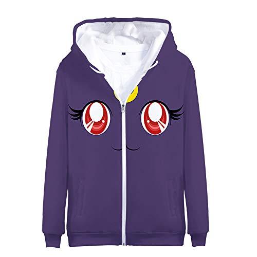Sailor Moon Pullover Mode Kinderbekleidung Coat Studenten Persönlichkeit Hoodie beiläufige wilder Trend lose Jacke dünne klassische langärmelige Reißverschluss-Strickjacke-Mantel Kinder Sweatshirt Obe