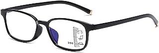 Progressieve Multifocale Leesbril TR90 Frame Super Licht Comfortabele Unisex Bril Dioptrie +1.00 Tot +3.00,zwart,+2.00