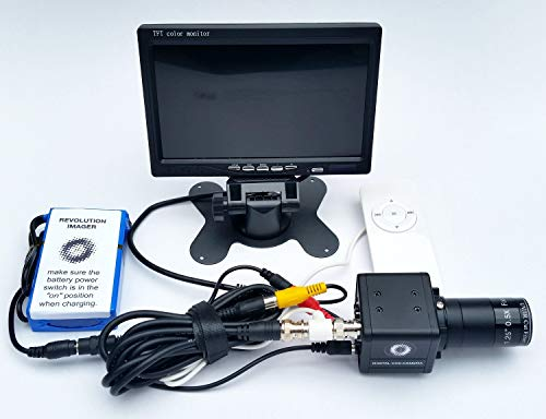 Revolution Imager for Telescope  Live Color Video Camera with Monitor