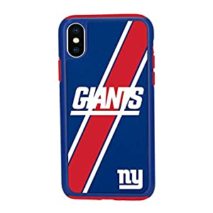 """Forever Collectibles iPhone XR (6.1"""") Impact Series Dual Layered Protective Case for NFL New York Giants, IPHNNFBTPUXRLNG"""