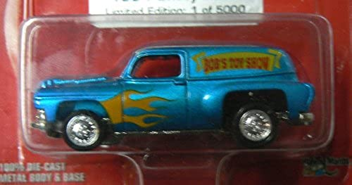 Johnny lumièrening Promo Edition Metallic bleu 1954 Chevy Panel Limited Edition Die Cast Collectibles Bob's Toy Show 1996 by Playing Mantis