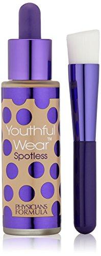 Physicians Formula Youthful Wear Kosmetisches Make-up für jugendliches Aussehen Foundation SPF 15, Medium Beige, 1 Stk. ,130g