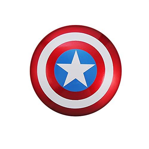 Joeesun Cubierta del botón de Arranque del automóvil: Interruptor de botón de Parada de Arranque del Motor del automóvil Capitán América decoración Protectora antirrayas