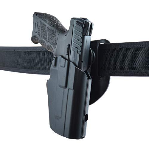 Safariland® 576 GLSTM PRO-FITTM 7TS Gürtelholster mit Ausschnitt am Korn, rechts, Gr. 283/Compact, z.b. H&K P2000/P30/SFP9; Walther P99/P99Q/PPQ