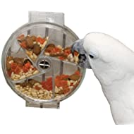 Featherland Paradise Creative Foraging Systems, Foraging Wheel Bird Toy