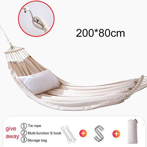 Waart Hangmatten voor buiten, ultralichte reiscampinghangmat ademende hangmatten van opvouwbaar zeildoek voor rugzakken