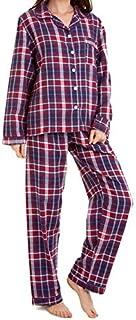 Pijama Feminino Flanela Xadrez Vermelho 100% algodão