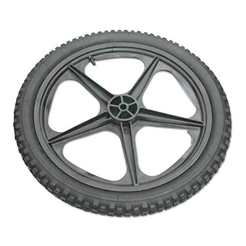 Rubbermaid Commercial M1564200 Big Cart Replacement Wheel, Black