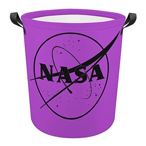 NA-SA - Cesto de lavandería grande con cordón, resistente al agua y a la humedad, gran capacidad, redonda, cesta de almacenamiento para la colada