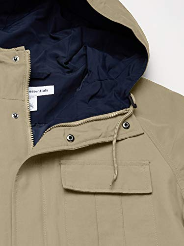 Amazon Essentials Chaqueta Ligera para montaña. Cotton-Lightweight-Jackets, Caqui, US S (EU S)
