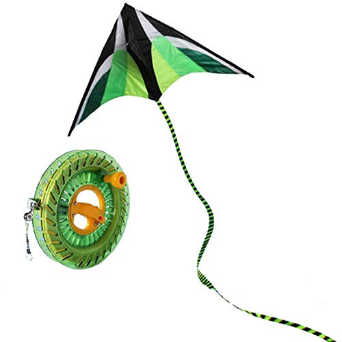 Kite Reel Driehoek Lange Staart Kite 2 Soorten Kites Goed Vliegen