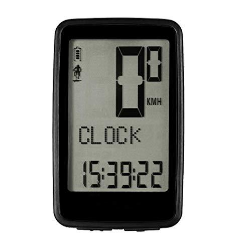 Cuentakilómetros para Bicicleta Sensor de cadencia inalámbrico USB Recargable de la Bici...