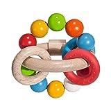 Eichhorn 100017040 - Baby 3D Greifling, 9,5x9cm, FSC 100% Zertifiziertes Buchenholz