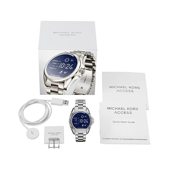 Michael Kors Access, Women's Smartwatch, Bradshaw Stainless Steel, MKT5012