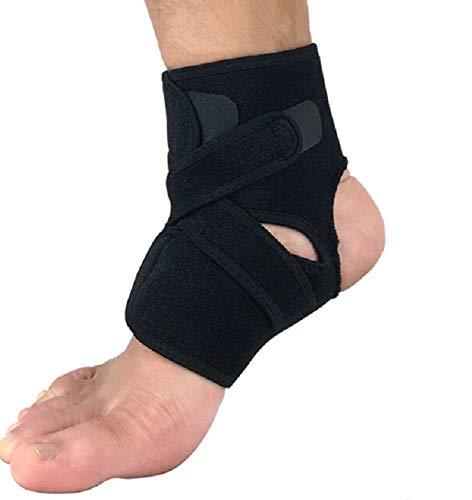 VITTO Sprunggelenkbandage, verstellbare Fußbandage bei Bandschäden, schwachen Gelenken, verstauchtem Gelenks und Arthritis (Linker oder Rechter Fuß)